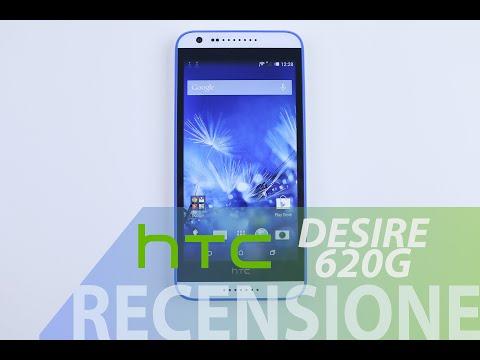 HTC Desire 620G, recensione in italiano