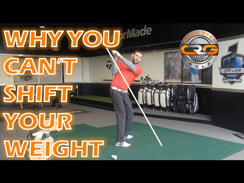 WHY YOU CANT SHIFT YOUR WEIGHT