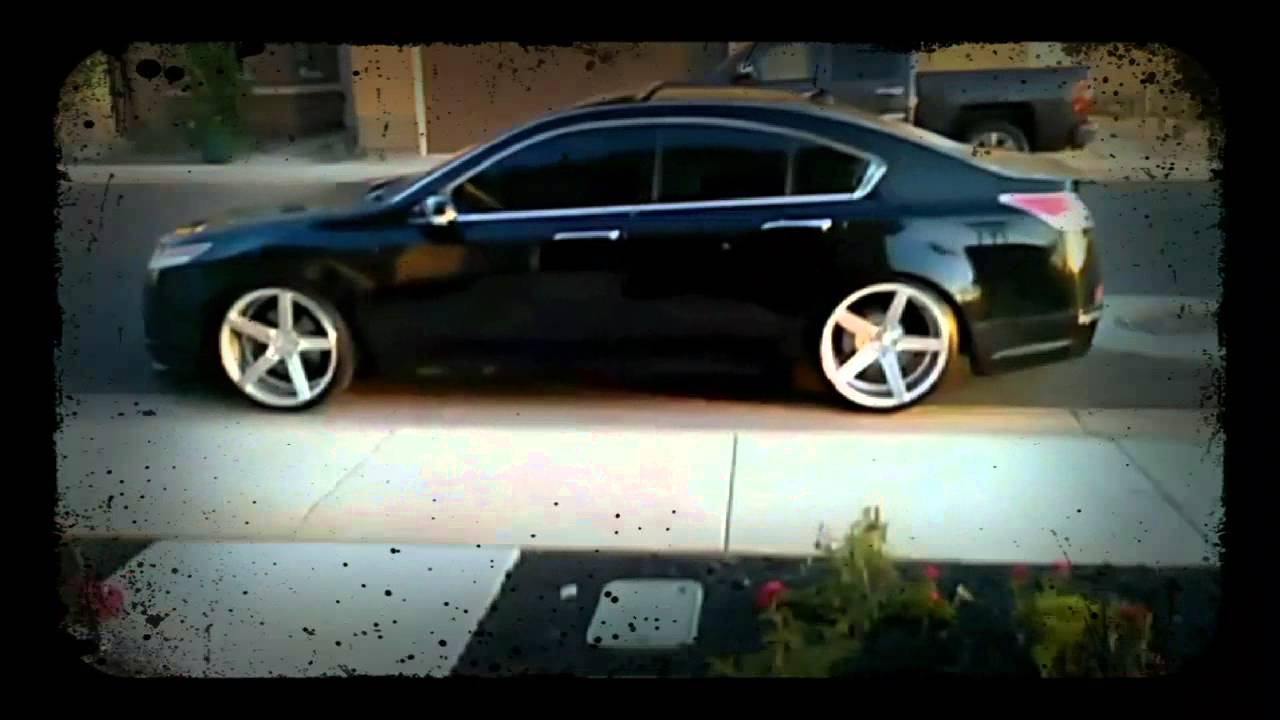 Acura TL on Vossen - YouTube