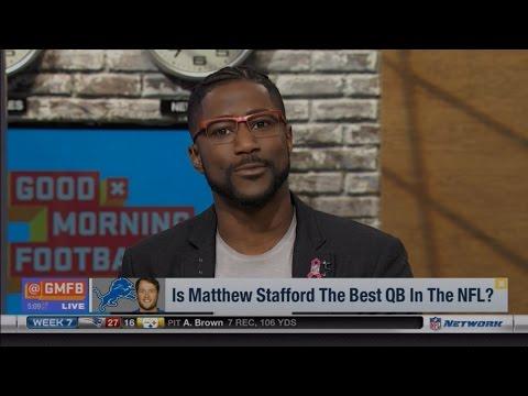 Good Morning Football Praises Matthew Stafford After Redskins Game