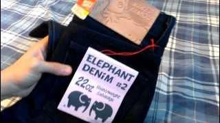 Naked and Famous Elephant 2 Skinny Guy 22oz Selvedge Denim Raw Indigo Review