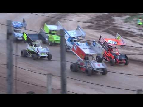 Paradise Speedway Bob Finley Heat 8/27/16