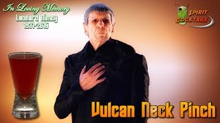 Vulcan Neck Pinch Shooter, Leonard Nimoy Tribute