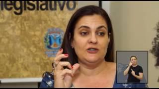 Jornal Acontece - Mesa Redonda Lei Maria da Penha LIBRAS