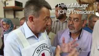 ICRC President Peter Maurer in Gaza – shocked by human suffering
