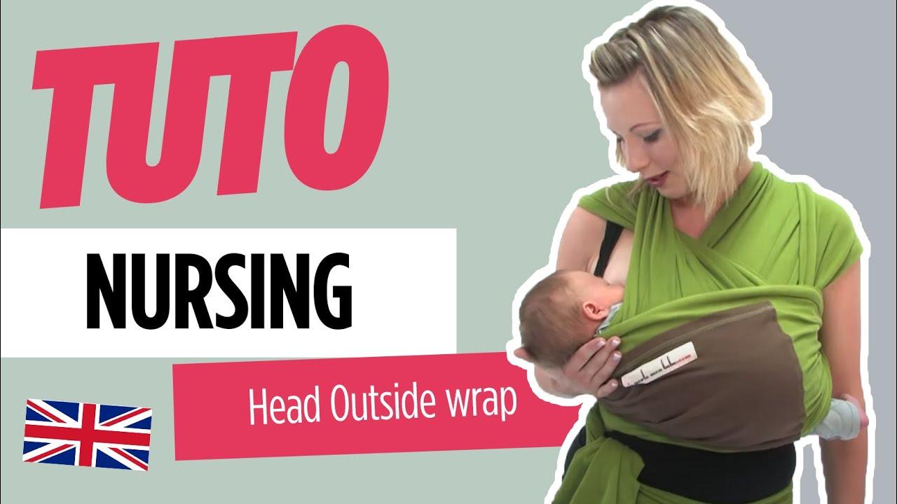Baby Wearing Love Radius Nursing Head Outside Wrap Youtube