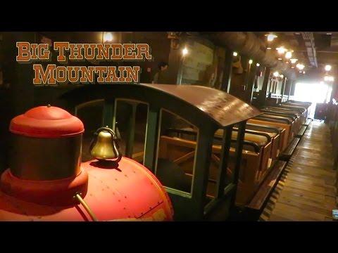 Riding Big Thunder Mountain Railroad at The Magic Kingdom!