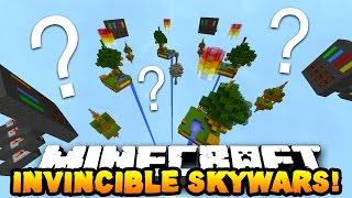 Minecraft INVINCIBLE SKYWARS...? (New Custom Map)