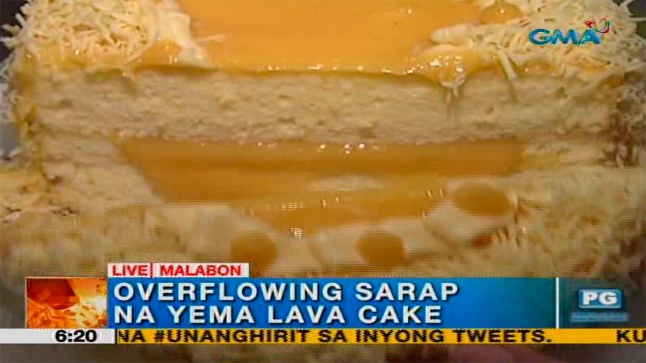 Yema Lava Cake