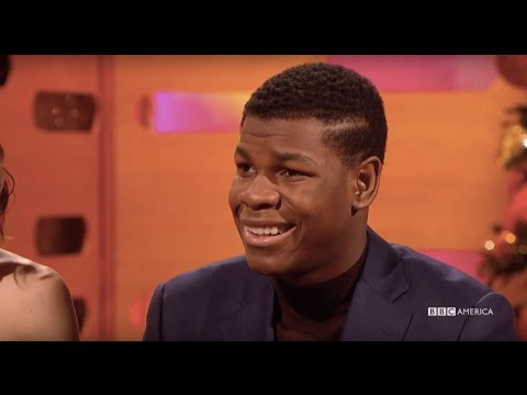 John Boyega and His Star Wars American Accent  - The Graham Norton Show