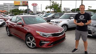 Is the NEW 2020 Kia Optima S the BEST VALUE mid-size sedan? Video