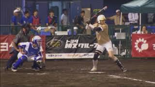 「第16回WBSC世界女子ソフトボール選手権大会」大会第1日 予選リーグ第1戦・イタリア戦 6回裏