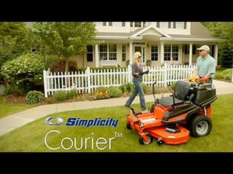 COURIER™ ZERO TURN MOWER: SEE IT IN ACTION