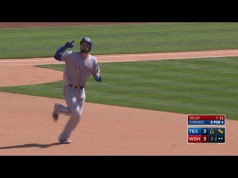 Chirinos launches three-run homer in 11th