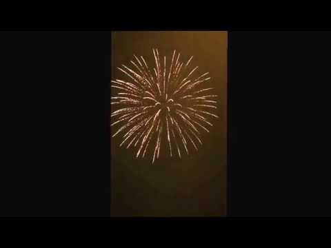Rich Hill, MO 2016 Firework Display