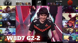 IG vs TES - Game 2 | Week 8 Day 7 LPL Summer 2020 | Invictus Gaming vs Top Esports G2