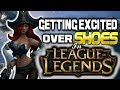 Getting Excited over Shoes in League of Legends