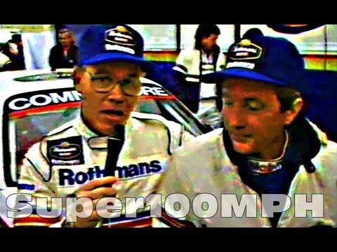 1987 Moffat/Harvey WTCC Winning At Monza