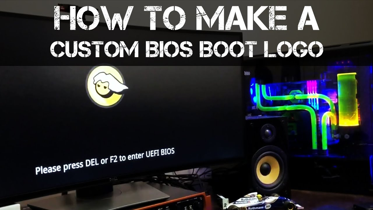 How to make a custom BIOS and Windows Boot Logo