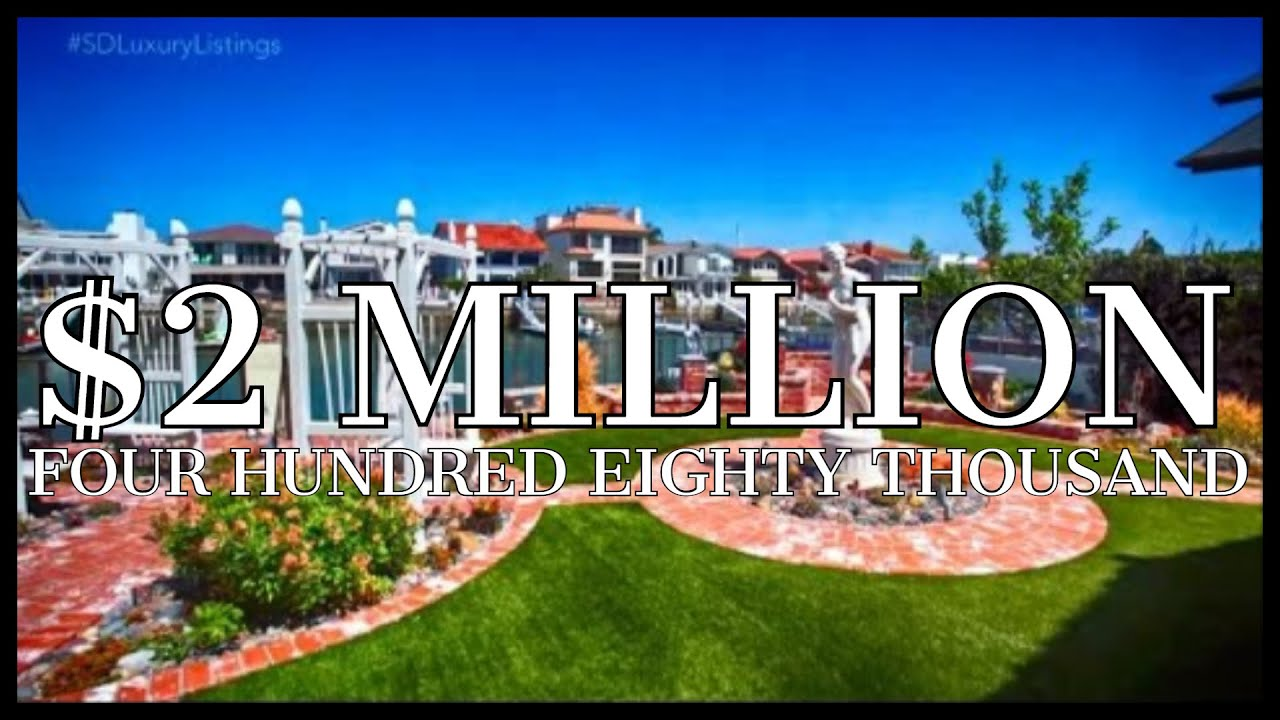 Coronado Cays Executive Waterfront Home