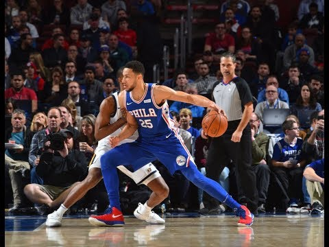 Ben Simmons | Highlights vs Jazz (11.20.17) 27 Pts, 10 Rebs, 2 Asts, 4 Stl