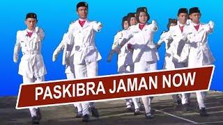 Download Video INI BARU KEREEN, Paskibra Jaman Now. Mata Tak Berkedip Dibuatnya MP3 3GP MP4