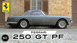 FERRARI 250 GT PININFARINA (PF) Coupé 1959 - Modest test drive - Engine sound | SCC TV