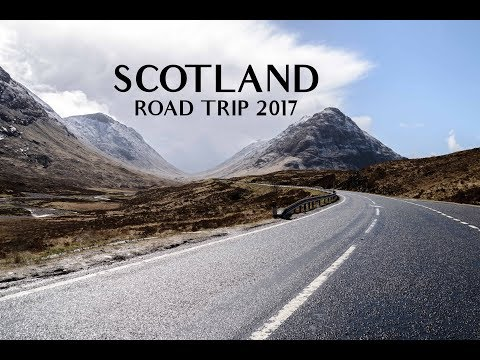 Scotland - Roadtrip Timelapse