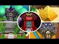 Newer Super Mario Bros Wii - All Castle Levels