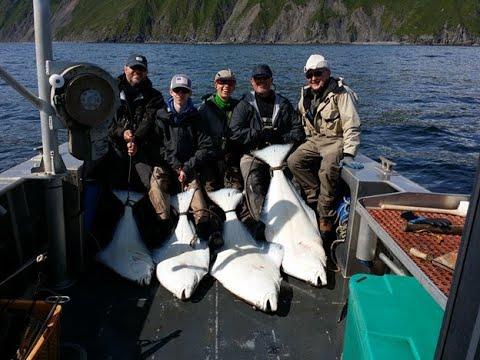 Alaskan Halibut Fishing Kodiak Alaska