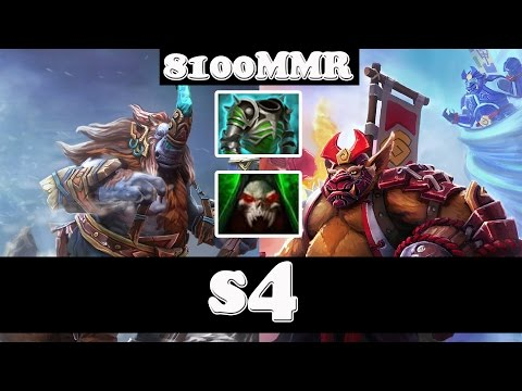 s4 8100MMR Plays Magnus And Brewmaster - Ranked match Gameplay - Dota 2