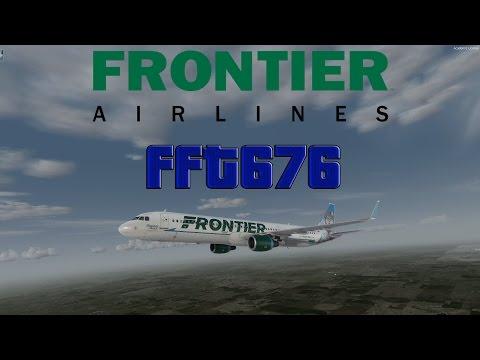 P3D V3 | VATSIM | Denver - Orlando | FFT676 | Full Flight