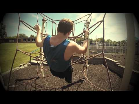 Twin Cities Parkour Training at Deephaven Elementary School