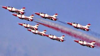 """""""Silver Stars"""" Formation Aerobatic Airshow 