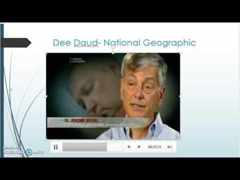 Sleep Wake Disorders Narcolepsy Part 2