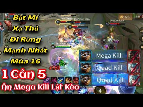 SLIMZ Mùa 16 | 1 Cân 5 Ăn Mega Kill Lật Kèo Đẳng Cấp | Liên Quân Mobile