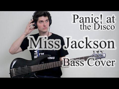 Panic! At The Disco - Miss Jackson (Bass Cover With Tab)