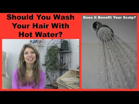 Hot Water  vs. Cold Water To Wash Your Hair