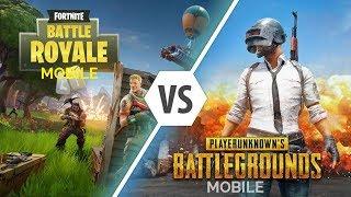 Fortnite vs PUBG Mobile - Battle Royale pe telefon!