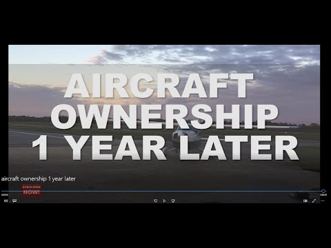 I Bought An Airplane:  Year 1