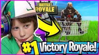 FORTNITE FINALLY! | GETTING A VICTORY ROYALE | SQUADS