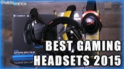 Best Gaming Headsets of 2015