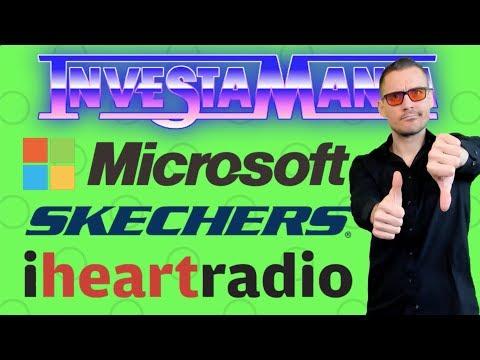 $MSFT Microsoft IHRT iHeartMedia SKX Skechers 2019 Stock News Analysis