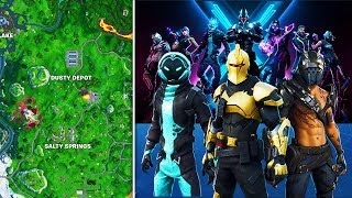 Fortnite Saison X MISE À JOUR: TOUS les changements de carte, Battle Pass SKINS, Récompenses, Patch Notes -PLUS (10.0)