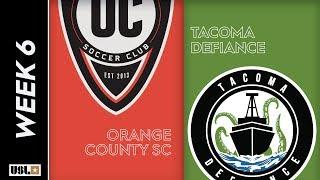 Orange County SC vs. Tacoma Defiance: April 10th, 2019