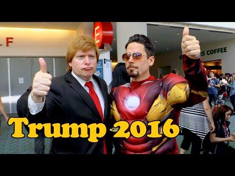 Donald Trump (Phillip Wilburn) Interview: Comic-Con 2015
