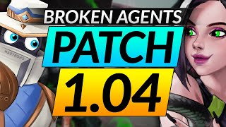 NEW Valorant PATCH 1.04 - Cyṗher and Viper are BROKEN - META Buffs and Nerfs - Update Guide