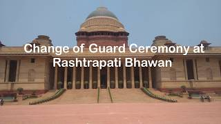 Change of guard ceremony  online booking link   Rashtrapati bhawan   Timing  How to Reach  Metro