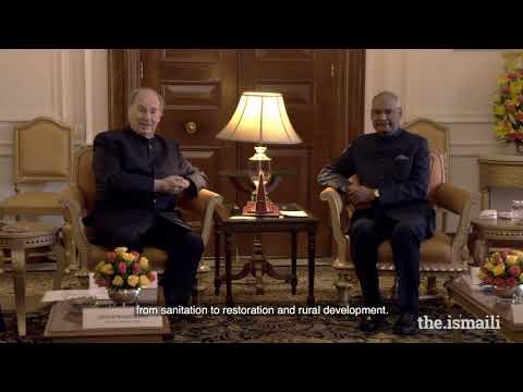 Mawlana Hazar Imam's Diamond Jubilee visit to India