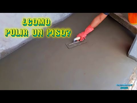 Técnicas para pulir un piso | CONSTRUCCIONES IDEALES